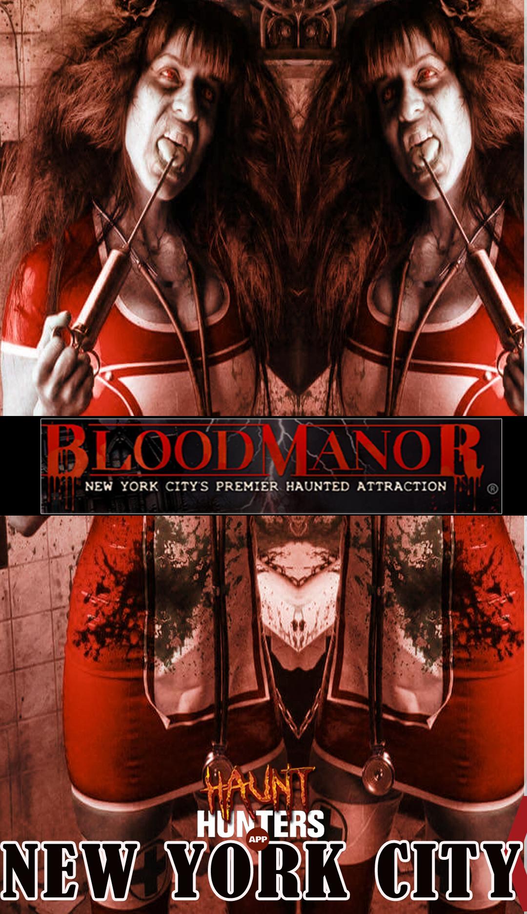 Blood Manor App 2020